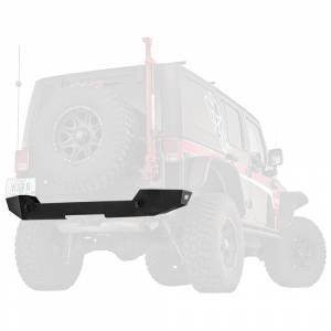 Jeep Bumpers - Warn - Warn - Warn 89525 Elite Series Rear Bumper for Jeep Wrangler JK 2018