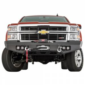 Warn - Warn 95800 Ascent Front Bumper for Chevy Silverado 1500 2014-2015 - Image 3