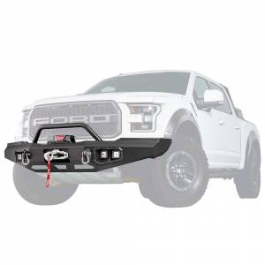 Warn 99850 Ascent Front Bumper with Baja Bar for Ford F150 2017-2018