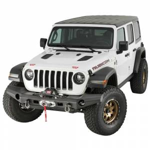 Jeep Bumpers - Warn - Warn - Warn 101335 Elite Series Front Bumper for Jeep Gladiator/Wrangler JL 2018-2020