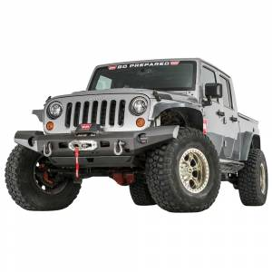 Jeep Bumpers - Warn - Warn - Warn 101420 Elite Series Front Bumper for Jeep Wrangler JK 2007-2018