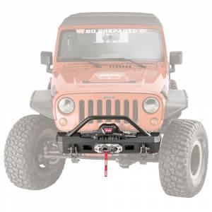 Jeep Bumpers - Warn - Warn - Warn 101450 Elite Series Front Bumper for Jeep Wrangler JK 2007-2018