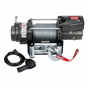B Exterior Accessories - Winches - Warn - Warn 68801 16.5TI Thermometric Self-Recovery Winch