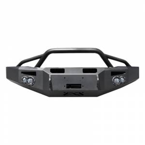 Fab Fours CH05-A1352-1 Premium Winch Front Bumper with Pre-Runner Guard for Chevy Silverado 2500HD/3500 2003-2007