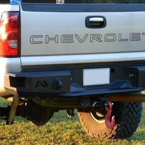Fab Fours - Fab Fours CH99-W1250-1 Premium Rear Bumper for Chevy Silverado 2500HD/3500 1999-2007 - Image 3