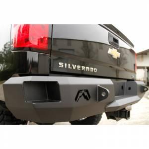 Fab Fours - Fab Fours CH08-W1450-1 Premium Rear Bumper for Chevy Silverado 2500HD/3500 2007-2010 - Image 4