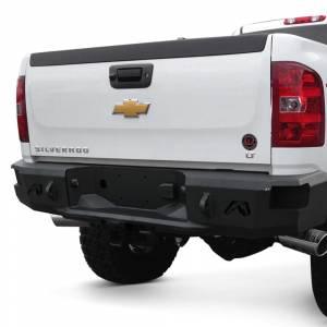 Fab Fours - Fab Fours CH11-W2150-1 Premium Rear Bumper for Chevy Silverado 2500/3500 2011-2014 - Image 2
