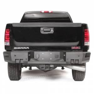 Fab Fours - Fab Fours CH11-W2150-1 Premium Rear Bumper for GMC Sierra 2500/3500 2011-2014 - Image 2