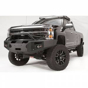 Fab Fours - Fab Fours CH14-C3052-1 Premium Winch Front Bumper with Pre-Runner Guard for Chevy Silverado 2500/3500 2015-2019 - Image 2