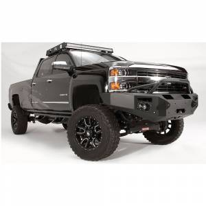 Fab Fours - Fab Fours CH14-C3052-1 Premium Winch Front Bumper with Pre-Runner Guard for Chevy Silverado 2500/3500 2015-2019 - Image 3