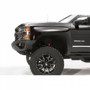 Fab Fours - Fab Fours CH15-V3051-1 Vengeance Front Bumper for Chevy Silverado 2500 HD/3500 HD 2015-2019 - Image 3