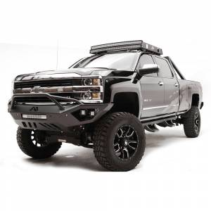 Fab Fours - fab Fours CH15-V3052-1 Vengeance Front Bumper with Pre-Runner Guard for Chevy Silverado 2500 HD/3500 HD 2015-2019 - Image 2