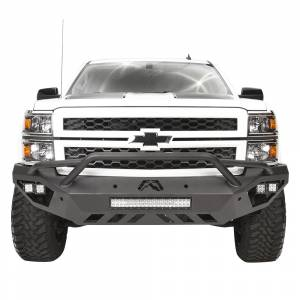 Fab Fours CS14-D3052-1 Vengeance Front Bumper with Pre-Runner Guard for Chevy Silverado 1500 2014-2015