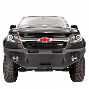 Shop Bumpers By Vehicle - Chevy Colorado - Fab Fours - Fab Fours CC15-H3351-1 Premium Winch Front Bumper for Chevy Colorado 2015-2019
