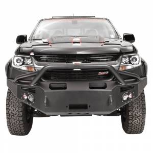 Shop Bumpers By Vehicle - Chevy Colorado - Fab Fours - Fab Fours CC15-H3352-1 Premium Winch Front Bumper with Pre-Runner Guard for Chevy Colorado 2015-2019