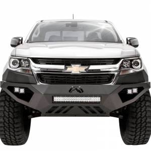 Shop Bumpers By Vehicle - Chevy Colorado - Fab Fours - Fab Fours CC15-D3351-1 Vengeance Front Bumper for Chevy Colorado 2015-2019