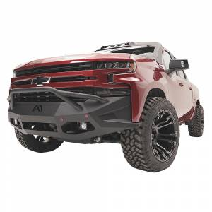 Fab Fours - Fab Fours CS07-D2052-1 Vengeance Front Bumper with Pre-Runner Guard for Chevy Silverado 1500 2007-2013