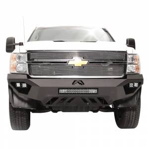 Fab Fours - Fab Fours CH11-V2751-1 Vengeance Front Bumper for Chevy Silverado 2500/3500 2011-2014