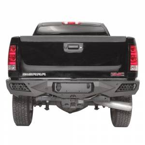 Fab Fours - Fab Fours CH11-E2151-1 Vengeance Rear Bumper for Chevy Silverado 2500/3500 2011-2014