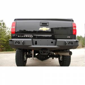 Fab Fours - Fab Fours CH14-W3050-1 Premium Rear Bumper without Sensors for Chevy Silverado 2500/3500 2015-2019 - Image 1
