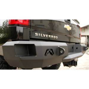 Fab Fours - Fab Fours CH14-W3050-1 Premium Rear Bumper without Sensors for Chevy Silverado 2500/3500 2015-2019 - Image 2