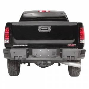 Fab Fours CH11-W2151-1 Premium Rear Bumper for GMC Sierra 2500/3500 2011-2014