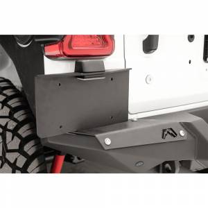 Fab Fours - Fab Fours M4550-1 Rear Bumper License Plate Bracket for Jeep Wrangler JL 2018-2020 - Image 2