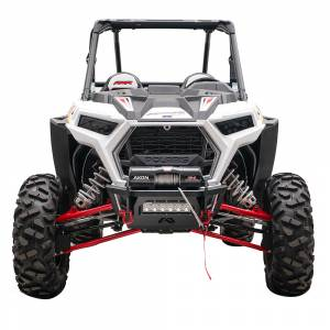 UTV Bumpers - Shop UTV Bumpers - Fab Fours - Fab Fours SXFB-1150-1 Winch Ready Front Bumper for Polaris RZR 2014-2020