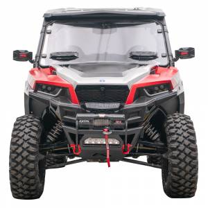 UTV Bumpers - Shop UTV Bumpers - Fab Fours - Fab Fours SXFB-1250-1 Winch Ready Front Bumper for Polaris General 2016-2019