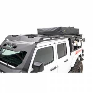 B Exterior Accessories - Fab Fours - Fab Fours JTOR-02-1 Overland Rack Extension for Jeep Gladiator JT 2020