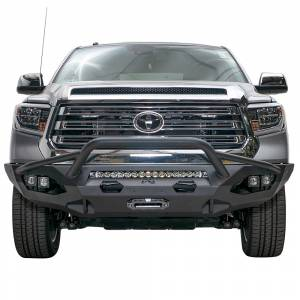 Toyota Tundra - Toyota Tundra 2014-2020 - Fab Fours - Fab Fours TT14-X3852-1 Matrix Front Bumper with Pre-Runner Guard for Toyota Tundra 2014-2019