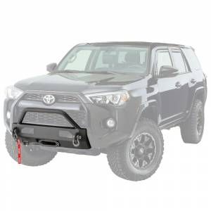 Bumpers by Style - Winch Mount | Hidden Winch Bumpers - Warn - Warn 100022 Semi Hidden Winch Mount Bumper Toyota 4Runner 2014-2018