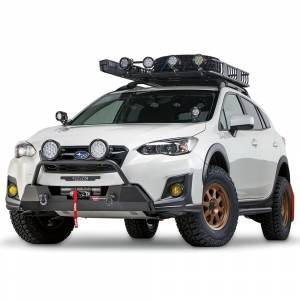Warn - Warn 106221 Semi Hidden Winch Mount Bumper Subaru Crosstek 2018-2020 - Image 3