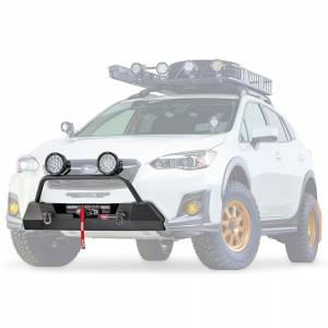 Warn - Warn 106221 Semi Hidden Winch Mount Bumper Subaru Crosstek 2018-2020 - Image 4