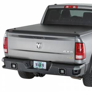 Truck Bumpers - Warn Ascent - Warn - Warn 96440 Ascent Rear Bumper for Dodge Ram 1500 2011-2019