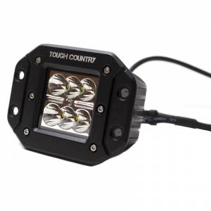 Tough Country - Tough Country Torch2x2 Flush Mount LED Cube Light - Pair - Image 2