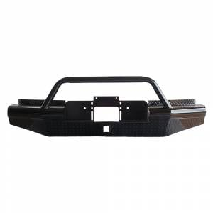 Tough Country AFR0028DLSMBW Apache Winch Front Bumper with Bull Bar for Dodge Ram 2500/3500 2003-2005