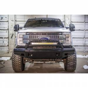 Tough Country AFR0500FLSMB Apache Front Bumper with Bull Bar for Ford F250/F350/F450/F550 2005-2007