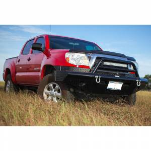 Tough Country AFR0513TLSMBW Apache Winch Front Bumper with Bull Bar for Toyota Tacoma 2013-2015