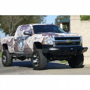 Tough Country AFR0710CLSMB Apache Front Bumper with Bull Bar for Chevy Silverado 1500 2007-2013