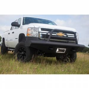 Tough Country AFR0710CLSMBW Apache Winch Front Bumper with Bull Bar for Chevy Silverado 1500 2007-2013