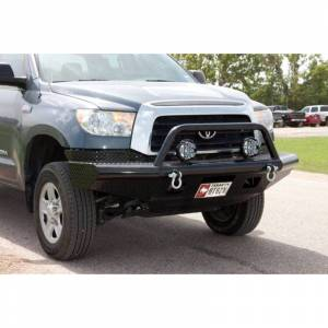 Tough Country AFR0777TLSMBW Apache Winch Front Bumper with Bull Bar for Toyota Tundra 2007-2013