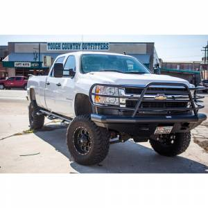 Tough Country - Tough Country DFR0050CLFSM Deluxe Front Bumper for Chevy Suburban 1500 1999-2002 - Image 2