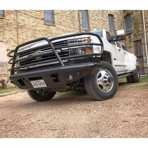 Tough Country - Tough Country DFR0050CLFSM Deluxe Front Bumper for Chevy Suburban 1500 1999-2002 - Image 3