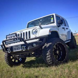 Jeep Bumpers - Tough Country - Tough Country - Tough Country JKFR Jeep Front Bumper for Jeep Wrangler JK 2007-2018