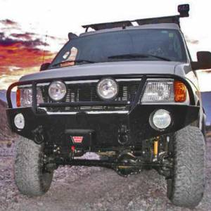 Aluminess - Aluminess 210001 Front Bumper with Brush Guard for Ford Econoline Van 1992-2007 - Image 8
