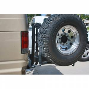 Aluminess - Aluminess 210009 8x6.5 Bolt Pattern Tire Rack for Ford Econoline Van 1992-2014 - Image 2