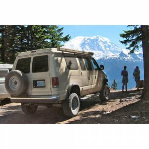Aluminess - Aluminess 210009 8x6.5 Bolt Pattern Tire Rack for Ford Econoline Van 1992-2014 - Image 5