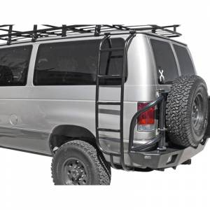 Aluminess 210026 Driver Side Ladder for Ford Econoline Van 1992-2014