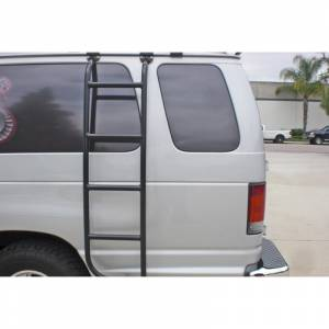 Aluminess - Aluminess 210026 Driver Side Ladder for Ford Econoline Van 1992-2014 - Image 2